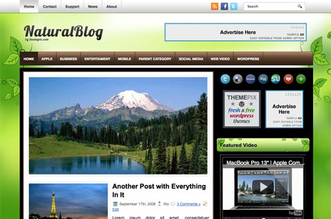 naturalblog-wordpress-theme