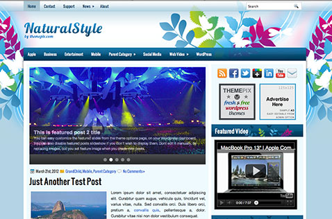 naturalstyle-wordpress-theme
