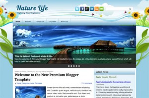 naturelife-premium-blogger-template