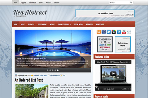 newabstract-wordpress-theme