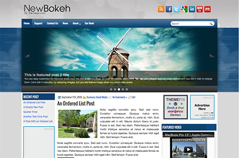 newbokeh-wordpress-theme