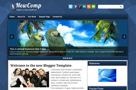 newcomp-blogger-template