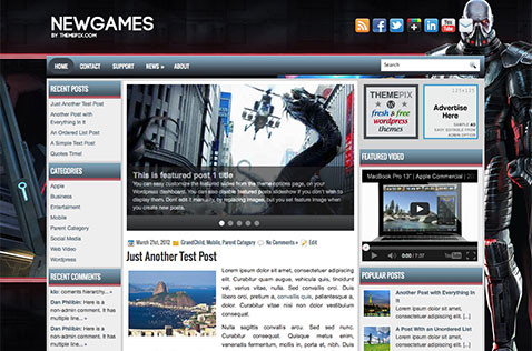newgame-wordpress-theme