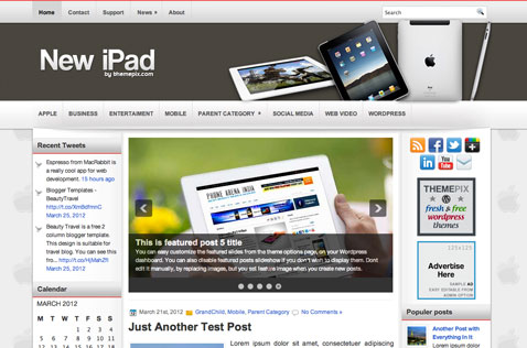 newipad-wordpress-theme
