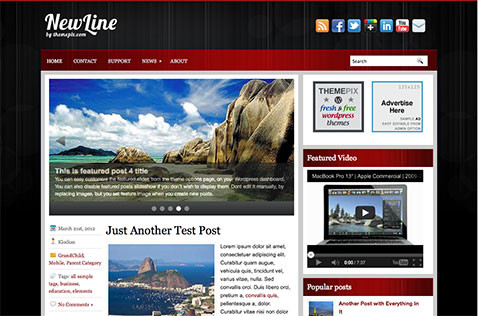 newline-wordpress-theme