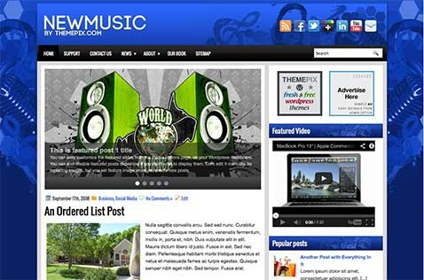 newmusic-wordpress-theme