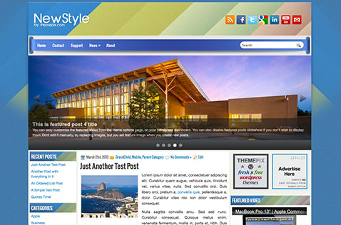 newstyle-wordpress-theme