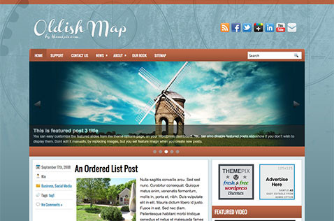 oldishmap-wordpress-theme