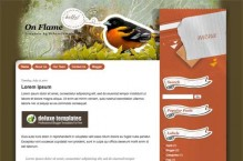 onflame-blogger-template