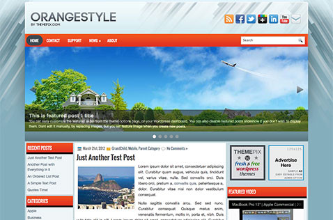 orangestyle-wordpress-theme
