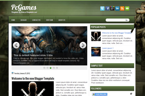 pcgames-blogger-template
