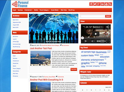 personal-finance-wordpress-theme