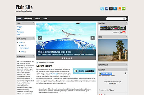 plainsite-blogger-theme