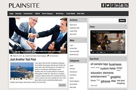 plainsite-wordpress-theme