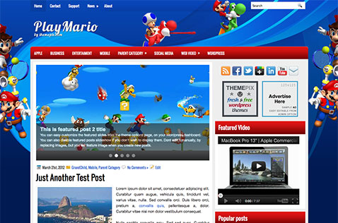 playmario-wordpress-theme