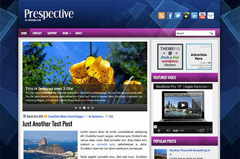 prespective-wordpress-theme