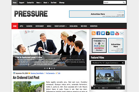 pressure-wordpress-theme