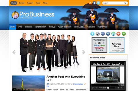 probusiness-wordpress-theme