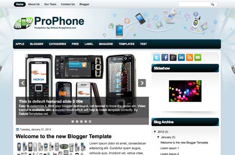 prophone-blogger-template