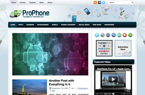 prophone-wordpress-theme