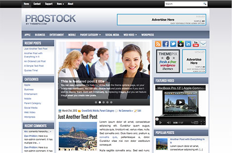 prostock-wordpress-theme