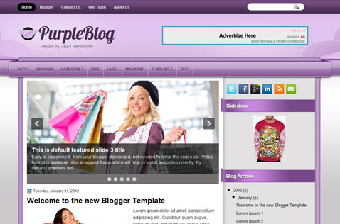 purpleblog-blogger-template