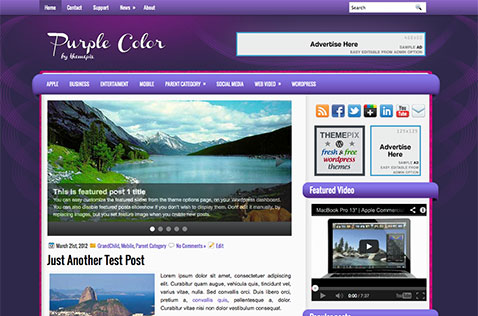 purplecolor-wordpress-theme