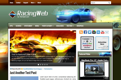 racingweb-wordpress-theme
