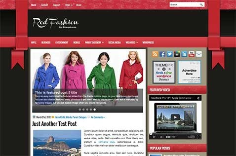 redfashion-wordpress-theme