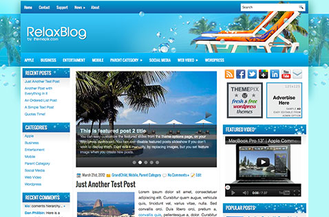 relaxblog-wordpress-theme