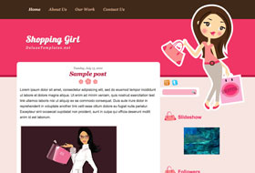 shopping-girl-templates
