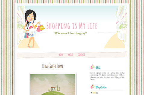 shoppingmylife-blogger-template