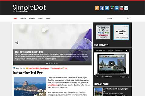 simpledot-wordpress-theme