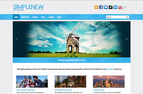 simplexnew-wordpress-theme