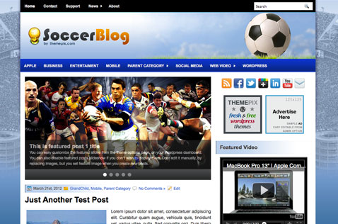 soccerblog-wordpress-theme