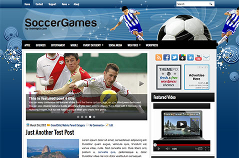 soccergames-wordpress-theme