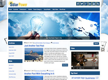 solarpower-wordpress-theme