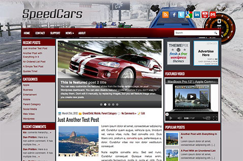 speedcars-wordpress-theme