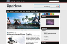 spotnews-blogger-template