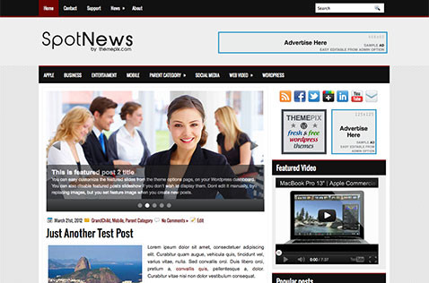 spotnews-wordpress-theme