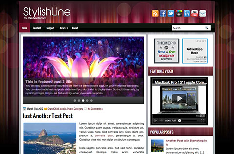 stylishline-wordpress-theme