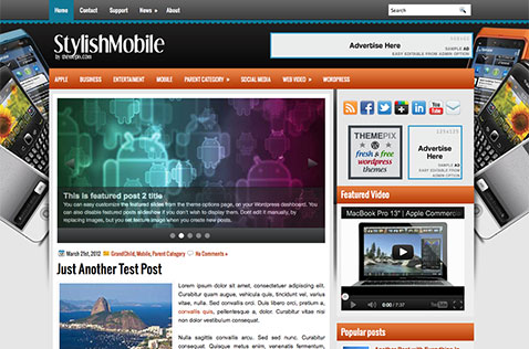 stylishmobile-wordpress-theme