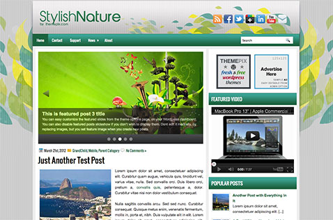 stylishnature-wordpress-theme
