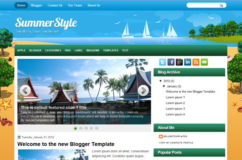 summerstyle-blogger-template