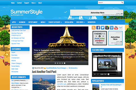 summerstyle-wordpress-theme
