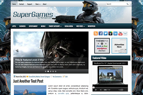 supergames-wordpress-theme