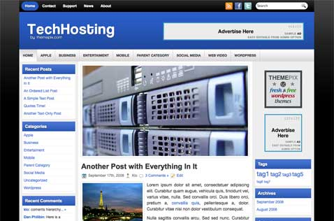 techhosting-wordpress-theme