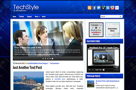 techstyle-wordpress-theme
