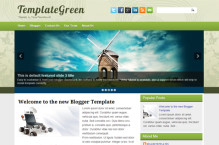 templategreen-blogger-template