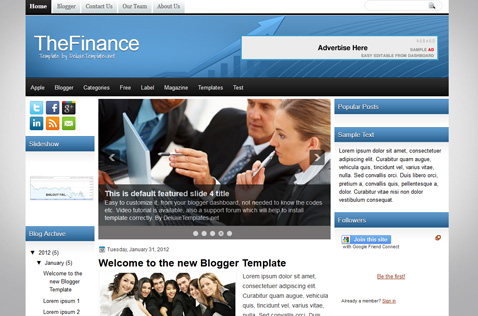thefinance-blogger-template